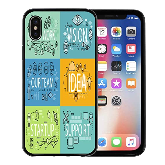 new concept dbd59 9630d Amazon.com: Emvency Phone Case for Apple iPhone Xs Case/iPhone X ...