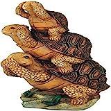 George S. Chen Imports SS-G-61056 Turtle Hear See Speak No Evil Collectible Garden Decoration Figurine