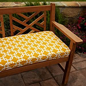 Mozaic Company Chloe Indoor/Outdoor Corded Bench Cushion