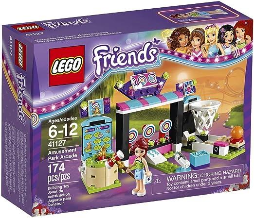 LEGO Friends - Parque de Atracciones, Juguete de Atracción de Feria de Mia (41127): Amazon.es: Juguetes y juegos
