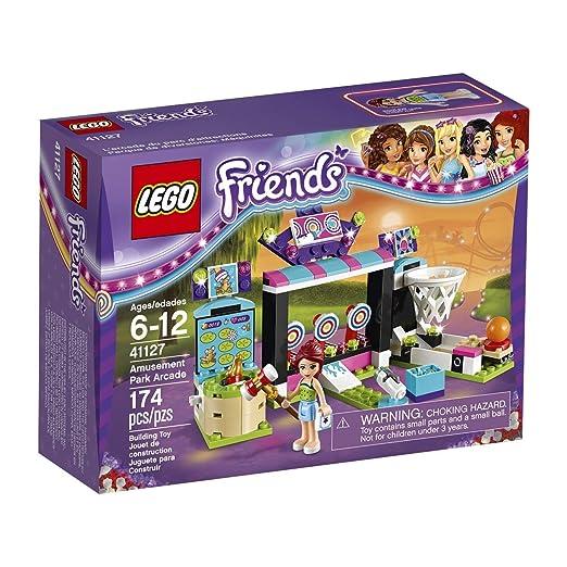 LEGO Friends - Parque de Atracciones, Juguete de Atracción de Feria de Mia (41127)