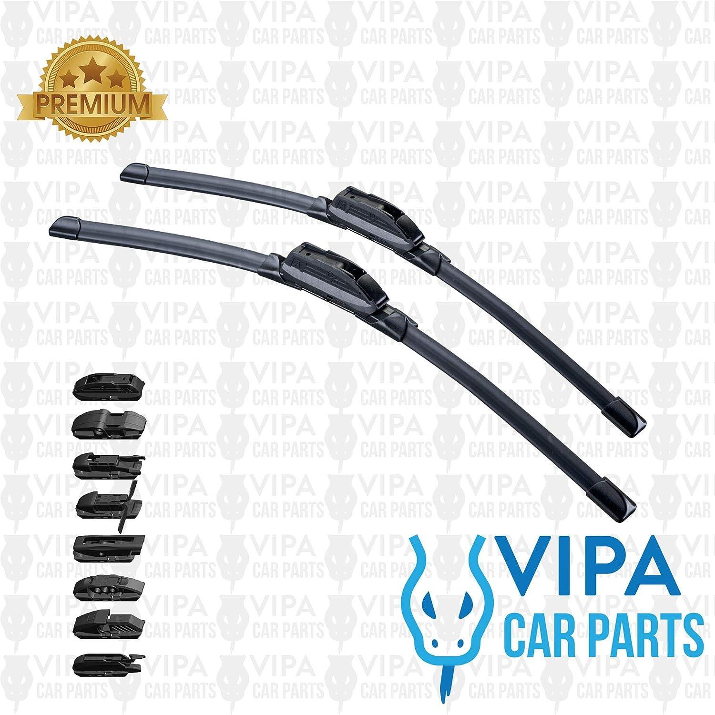 Vipa Car Parts/® 24+16 Wiper Blade Kit 2 x Blades