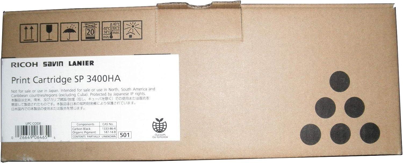 Aficio SP 3400 3410SF Series Toner OEM 5000 Yield Ricoh 406465 OEM Toner