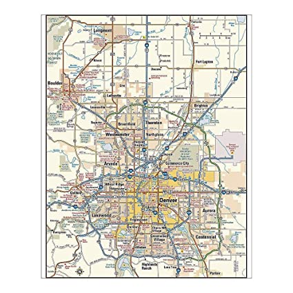 Amazon.com: Media Storehouse 10x8 Print of Denver, Colorado ...