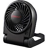 Honeywell HTF090B Turbo on the Go Personal Fan, Black – Small, Portable Fan