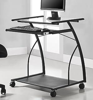 Amazon.com: Mobile & Compact Complete Computer Workstation Desk ...