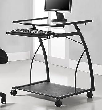 altra sheldon mobile computer desk black