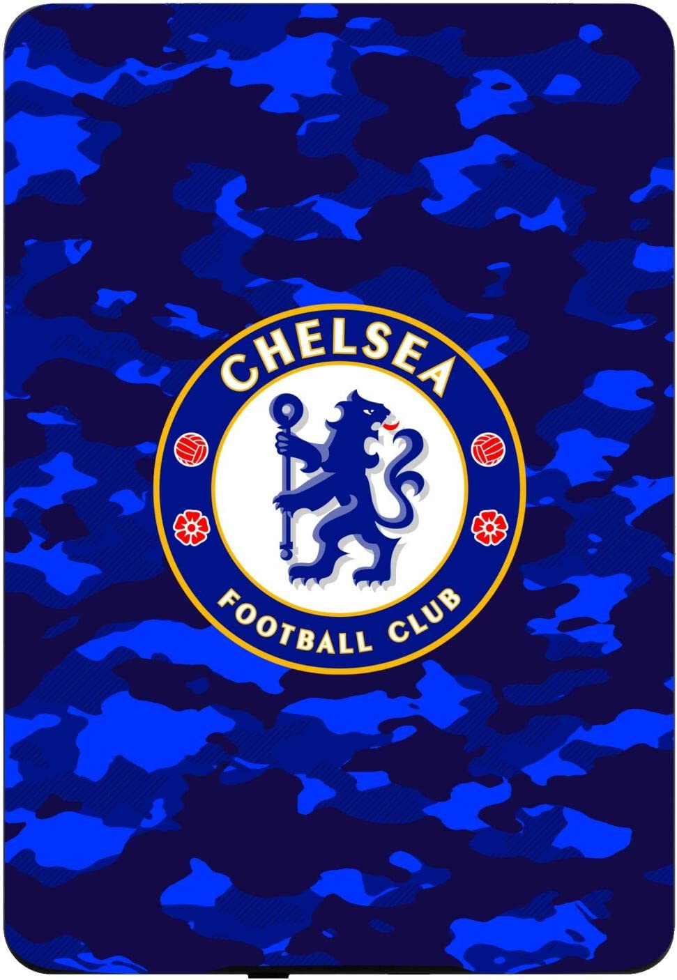 Head Case Designs Officially Licensed Chelsea Football Club Crest Camouflage Logo and Patterns Matte Vinyl Sticker Skin Decal Cover Compatible with Kindle Paperwhite 1/2 / 3
