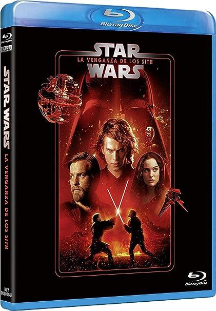 Star Wars Ep III: La venganza de los Sith Edición remasterizada 2 discos película + extras Blu-ray: Amazon.es: Hayden Christensen, Natalie Portman, Ewan McGregor, George Lucas, Hayden Christensen, Natalie Portman, Rick McCallum: