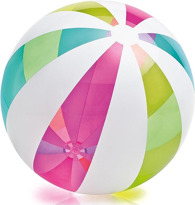Intex - Pelota Hinchable líneas Colores - 107 cm - 59066NP: Amazon ...