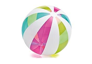 Intex - Pelota Hinchable líneas Colores - 107 cm - 59066NP