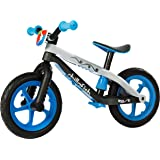 Chillafish BMXie-RS: BMX Balance Bike with Airless RubberSkin Tires, Blue (Motion of the Ocean)