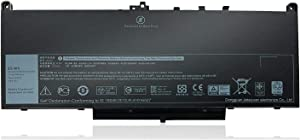 Binger BrandNew J60J5 Replacement Laptop Battery Compatible With Dell Latitude E7470 E7270 Series Laptop Fit R1V85 MC34Y 0MC34Y 242WD 451-BBSX(7.6V 55Wh)