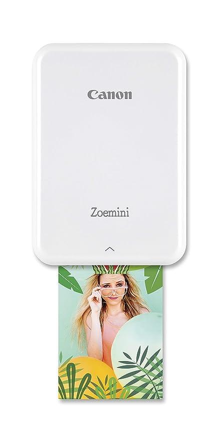 Canon Zoemini Pv-123 - Mini Impresora (Bluetooth, USB, 314 x ...
