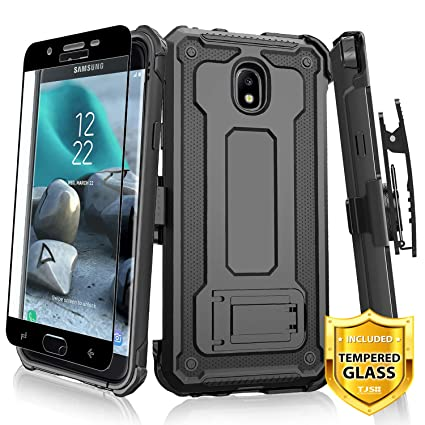 Amazon.com: TJS Funda para Samsung Galaxy J7 2018/J7 Refine ...