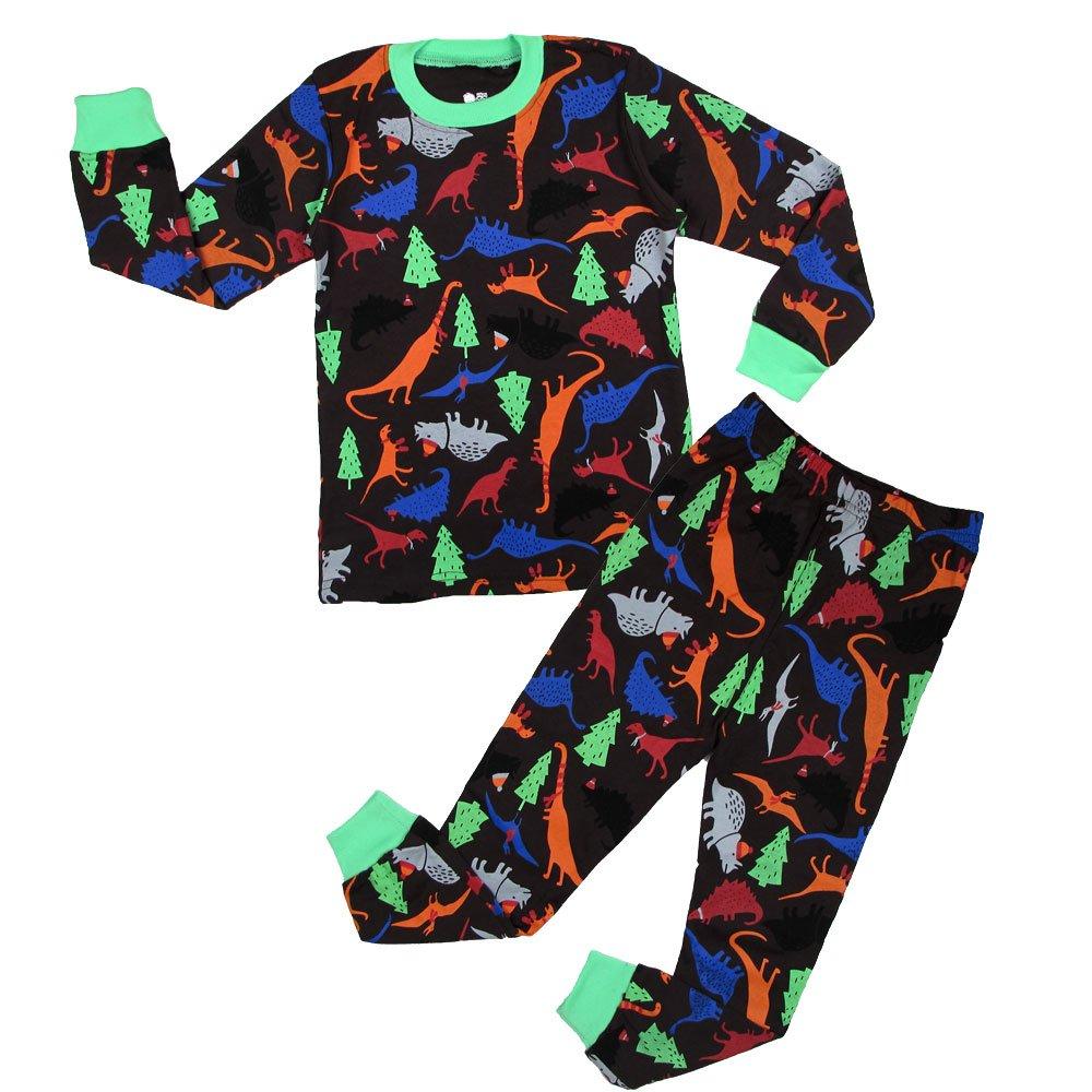 ... YIPWIN Toddler Boys Pajamas Kids Dinosaur Sleepwear Pjs Set Chrildren  Christmas Clothes 2-7Y ... 12b9d51b7
