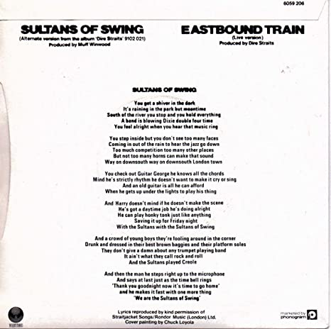 Sultans of Swing / Eastbound Train (Live) [7\
