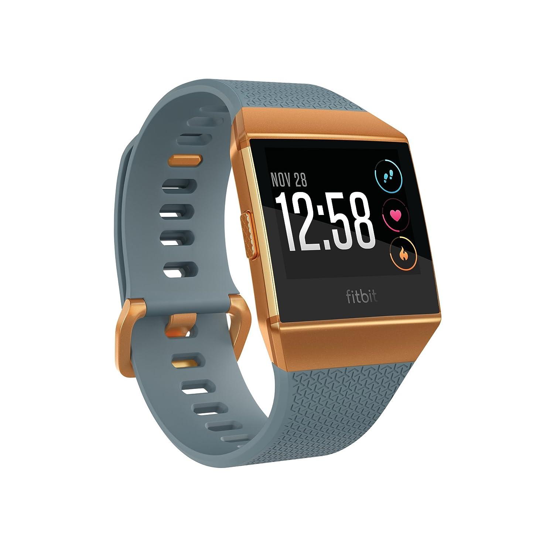 Fitbit FB503CPBU Ionic Smartwatch (Slate Blue/Burnt Orange)