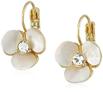 kate spade new york Disco Pansy Drop Earrings ct3SP2MSO