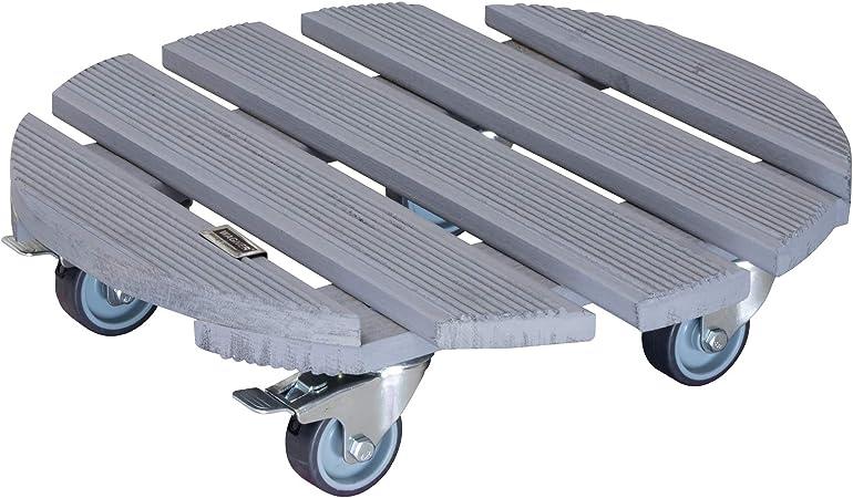 9974001/ Home System Chariot pour Plantes en Bois Mouvement /à 360/degr/és