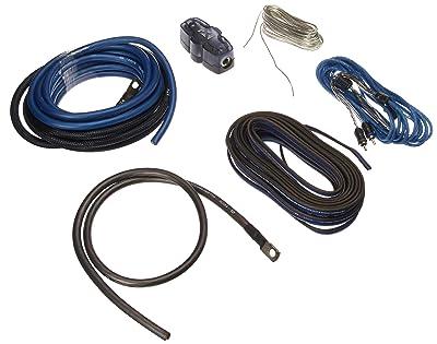 NVX 100% Copper 4-Gauge Car Amp Install Kit