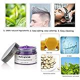 Hair Coloring Dye Wax, Purple Instant Hair