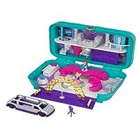 Polly Pocket Coffret Surprise-Party avec 2 Mini-Figurines et Accessoires, Autocollants et 5 Surprises Cachées, Jouet Enfant, édition 2018, FRY41