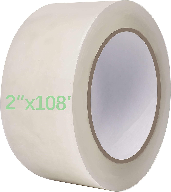 vensovo Greenhouse Covering Plastic Repair Tape - Heavy Duty 2″x108′ Garden Green House sheeting, Plastic polyethylene Film Repair Tape