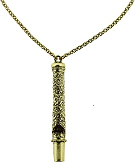 product image for 1928 Jewelry Antiqued Gold-Tone Whistle Pendant Necklace