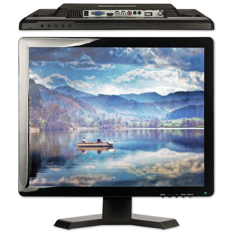 TPEKKA 19'' inch 1280X1024 HD Security Monitor HDMI VGA BNC Input TFT LCD Display Screen for PC DVR CCTV Cam FPV