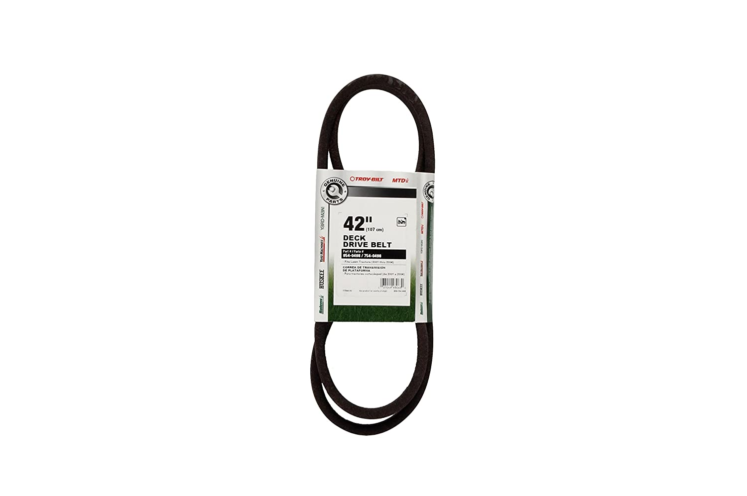 Amazon.com : MTD Genuine Parts Drive Belt - 42-Inch Tractors 2001-2003 : Lawn Mower Belts : Garden & Outdoor