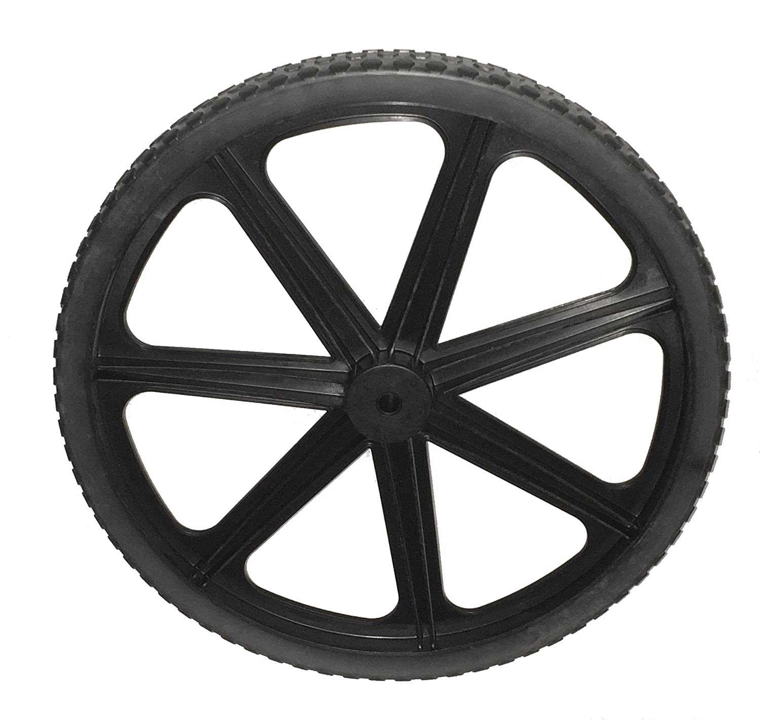 Rubbermaid Commercial Products M1564200 20 in. Non-Pneumatic Cart Wheel