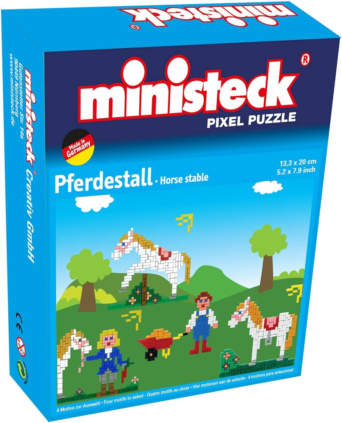 Ministeck Ministeck32551 4 in 1 Horse Stall Plug Picture