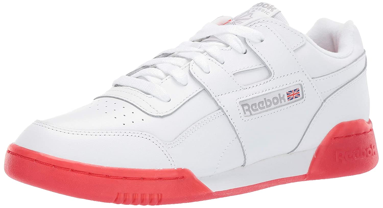 blanc voiturebon rouge 37 EU Reebok - Workout Plus Homme