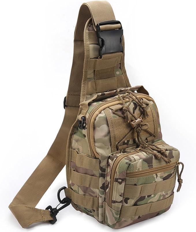 Best Tactical Sling Bag: Novemkada 1000D Outdoor Military Tactical Sling Bag