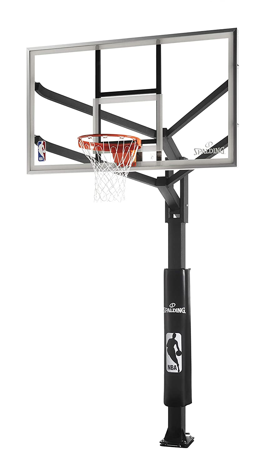 Spalding h-frame in-groundバスケットボールシステム B000Q5VUPI