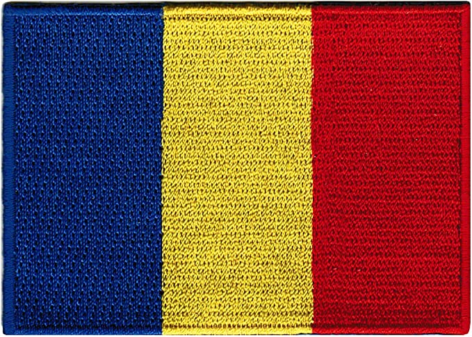 Gipsy romani roma  country flag patch patches backpack badge iron on embroidered