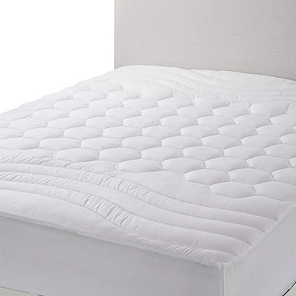 Amazon Com Bedsure Mattress Pad California King Size Breathable