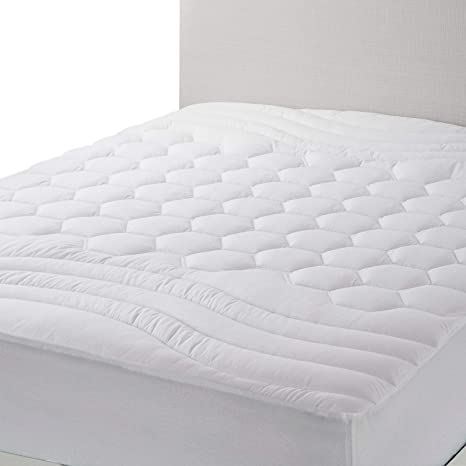 Amazon Com Bedsure Mattress Pad California King Size Hypoallergenic