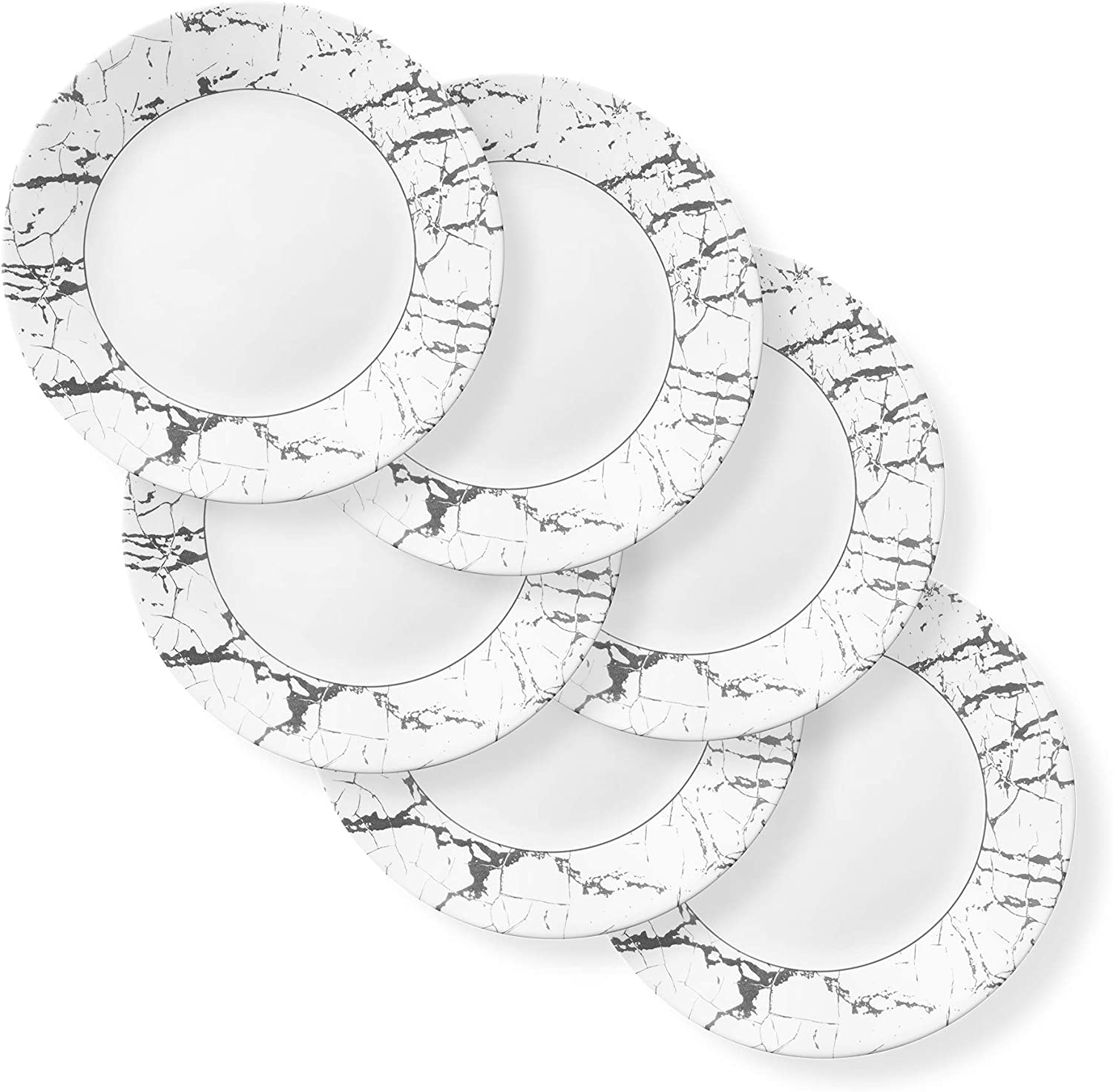 Milwaukee Mall Popular Corelle Boutique Dinner Plate Stone Pack 11in 6 27.9cm