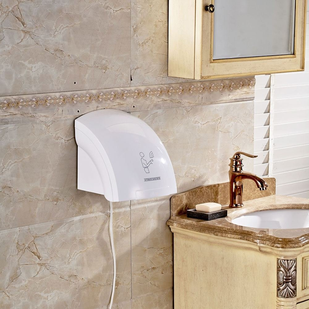 Bestee Automatic Infared Sensor Hand Dryer Household Hotel Bathroom Hands Drying Device