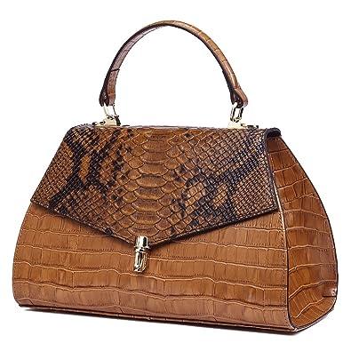 Sortie À La Recherche De Pas Cher QI WANG Sacs à main en cuir véritable pour les femmes Sacs à bandoulière souples sacs à main Totes sacs à bandoulière du soir Bonne Vente En Ligne lzLYHH
