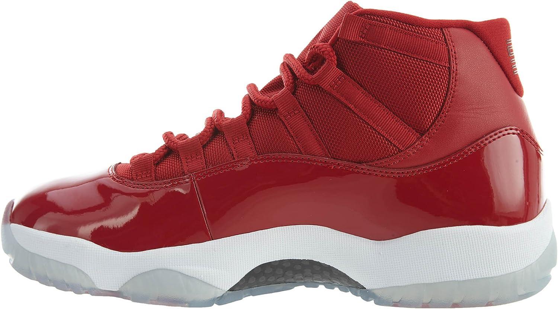 Nike Herren AIR Jordan XI Retro Win WIE 96 Schuhe in rot