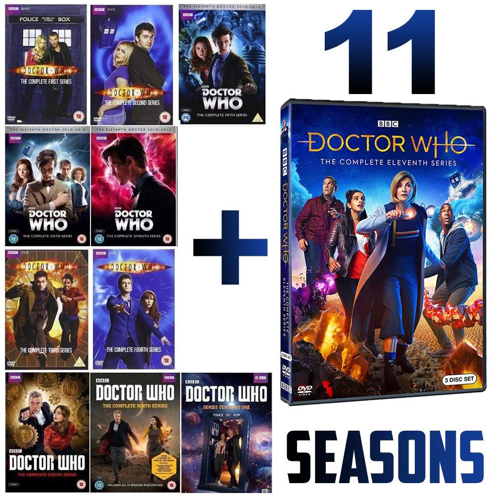 Doctor WHO: The Complete Series 1-10 & 11 Season DVD B0X Set
