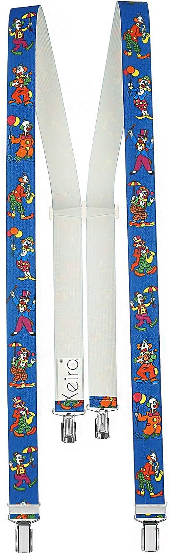 Bretelle per bambini di alta qualit/à di Xeira /& reg; Fatto in Germania//Halloween//Pirate//Airplanes//Colori uni