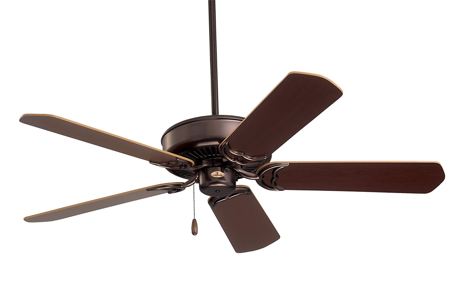 Emerson ceiling fans cf755ab designer 52 inch energy star ceiling emerson ceiling fans cf755ab designer 52 inch energy star ceiling fan light kit adaptable antique brass finish amazon aloadofball Choice Image