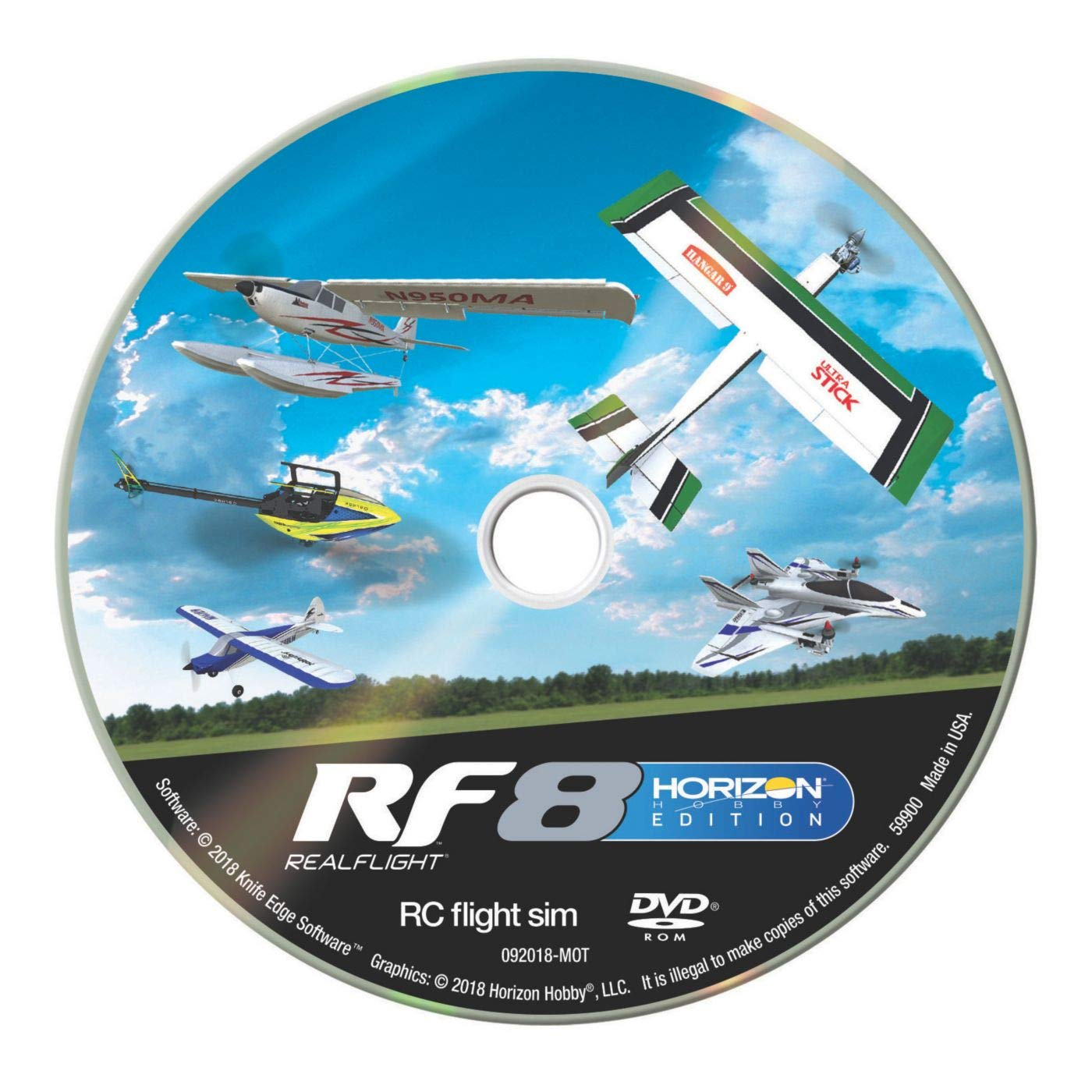 RealFlight RF8 Horizon Hobby Edition with Interlink-X Controller, RFL1000 by RealFlight (Image #3)