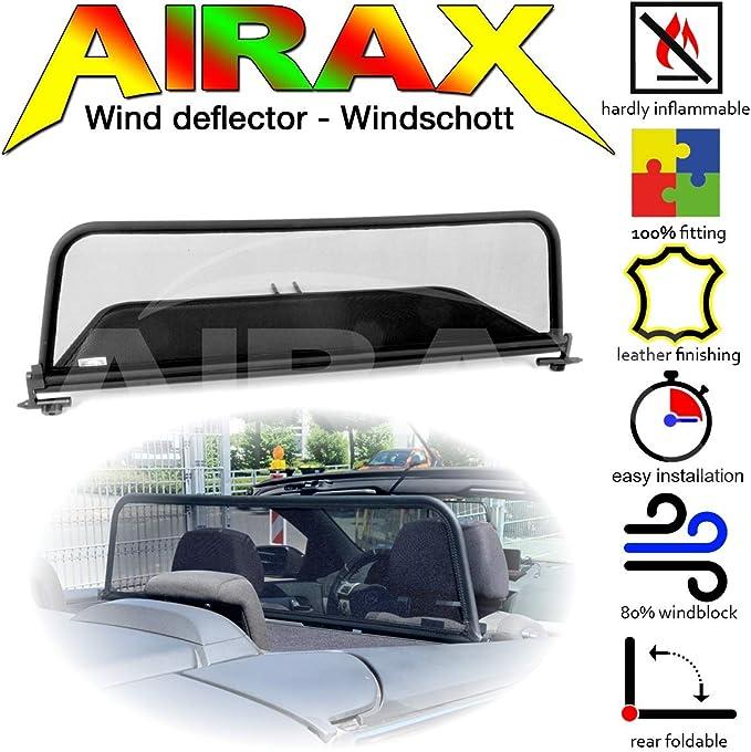 Airax Windschott Für Astra H Cabrio Windabweiser Windscherm Windstop Wind Deflector Déflecteur De Vent Auto