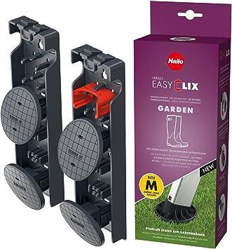 Hailo Easyclix Juego de Tacos Intercambiables para el jardín de escaleras domésticas (tamaño M): Amazon.es: Hogar