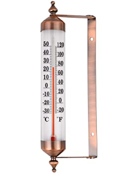 Miksus Steel Outdoor Thermometer